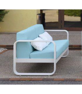 Comprar online Sofá de 2 plazas de Aluminio para exterior Colección RONDA