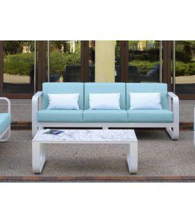 Comprar online Sofá de 3 plazas de Aluminio para exterior Colección RONDA