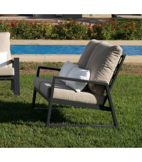 Comprar online Sofá de 2 plazas de terraza y jardín Colección LAGOS
