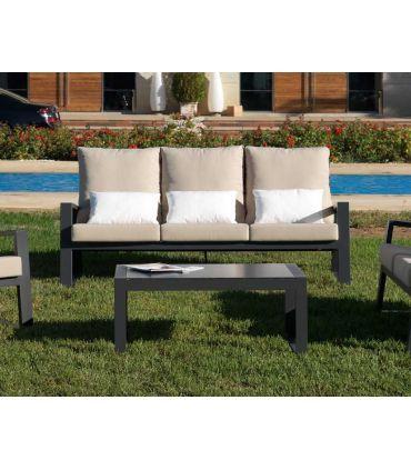 Sofá de 3 plazas de terraza y jardín Colección LAGOS