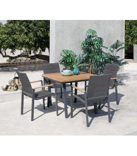 Comprar online Mesa Cuadrada de Terraza y Jardín Colección LAGOS