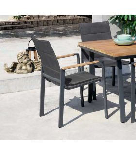 Comprar online Silla con brazos de terraza y jardín colección LAGOS