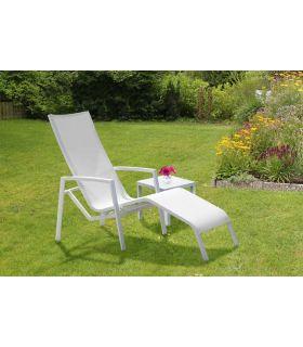 Comprar online Sillón Tumbona de terraza y jardín colección GANDIA
