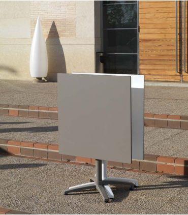 Mesas de Exterior Cuadradas : Modelo CANCUN taupe