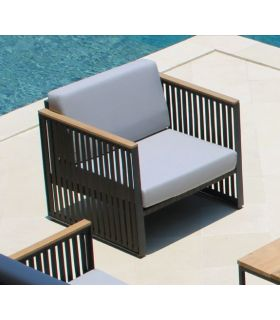 Comprar online Sofá de Aluminio para terraza y jardín Colección HORIZON
