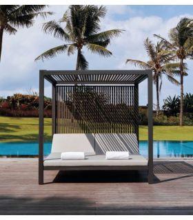 Comprar online Daybed de aluminio para terraza y jardín Colección HORIZON