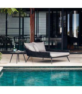 Comprar online Daybed de terraza y jardín en aluminio y fibra sintética Colección SERPENT