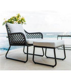 Comprar online Sofá de 1 plaza para terraza y jardín Colección MOMA Trenzado