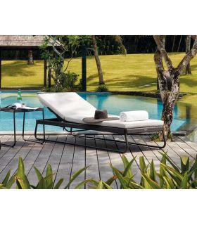 Comprar online Tumbona de Terraza y Jardín en Aluminio y Cuerda Colección MOMA