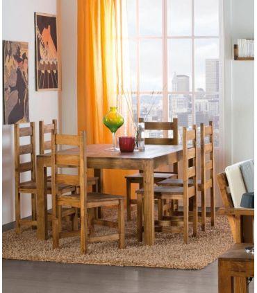Mesas de Comedor en Madera : Colección MINIMAL