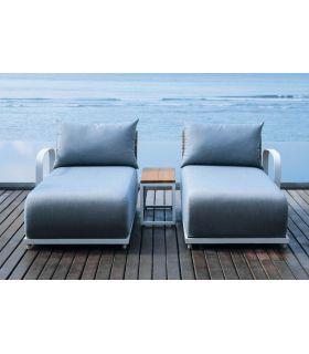 Comprar online Tumbona con brazo para decoración exterior Colección WINDSOR