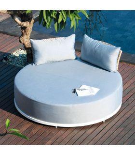 Comprar online Daybed de aluminio y rattan trenzado Colección WINDSOR