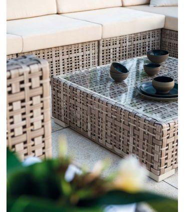 Sofá modular de ratan sintético Colección MARTIN