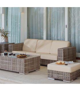 Comprar online Sofá de 3 plazas para decoración exterior Colección MARTIN