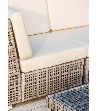 Sofá de 3 plazas para decoración exterior Colección MARTIN