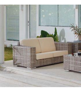 Comprar online Sofá de 2 plazas para decoración exterior Colección MARTIN
