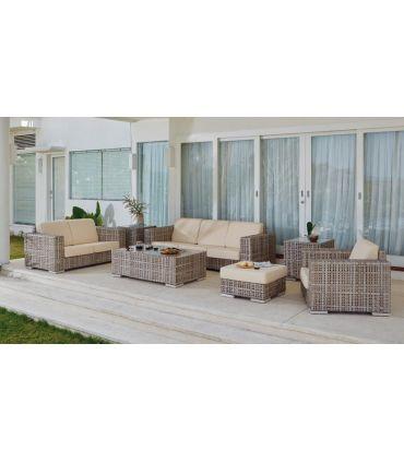 Sofá de 2 plazas para decoración exterior Colección MARTIN
