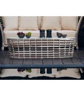 Comprar online Mesas auxiliares de rattan para decoración exterior Colección VILLA
