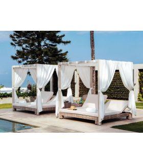 Comprar online Cama Balinesa DAYBED para Terraza y Jardin Modelo ANIBAL