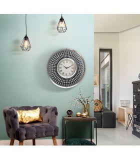 Comprar online Reloj de pared con lunas de espejo Modelo JULIA