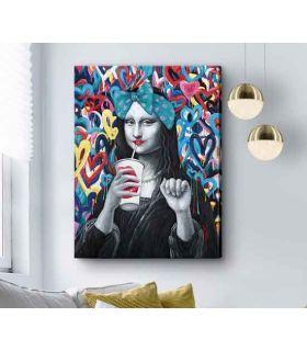 Comprar online Pintura Acrílica de estilo POP modelo GIOCONDA