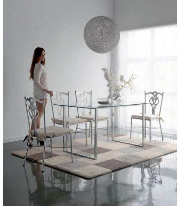 Mesas de Hierro Estilo Minimalista : Colección BAYONA
