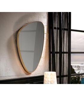 Comprar online Espejo Triangular con marco de pan de oro Colección ORIO PQ