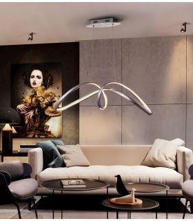 Comprar online Lámpara de techo LED Pan de plata modelo LIA