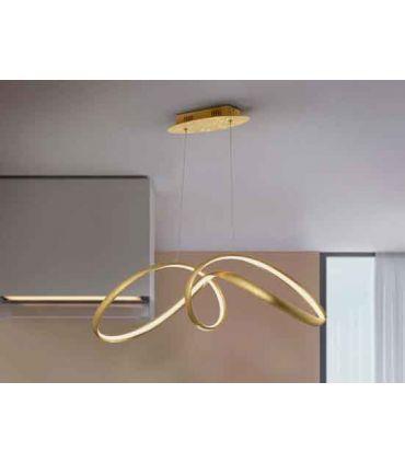 Lámpara de techo LED Pan de Oro modelo LIA