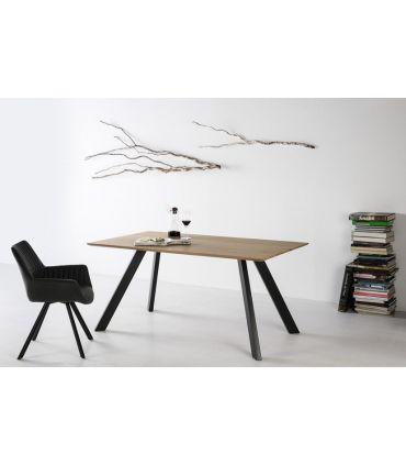 Mesa de Comedor con patas metálicas : Modelo MEI