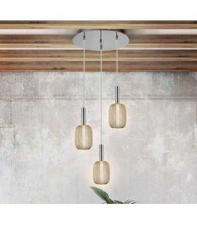 Comprar online Lámpara Colgante Circular Colección MICRON 3 Luces