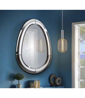 Comprar online Espejo con marco de lunas curvadas modelo CURVES Ovalado