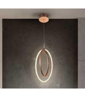 Comprar online Colgante LED de estilo moderno Colección OCELLIS Oro