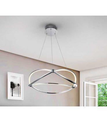 Lámpara de Techo Iluminación LED Colección OCELLIS Cromo
