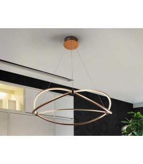 Comprar online Lámpara LED de diseño moderno Colección OCELLIS Oro