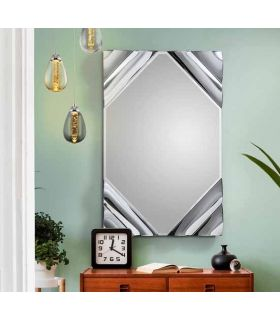 Comprar online Espejo de pared con lunas onduladas modelo ONDAS