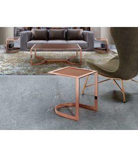 Comprar online Mesa de rincón de acero inoxidable Colección BETSY