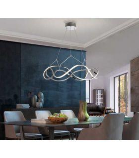 Comprar online Lámpara moderna con Iluminación LED Colección MOLLY Cromo