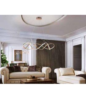 Comprar online Lámpara moderna con Iluminación LED Colección MOLLY Oro GR