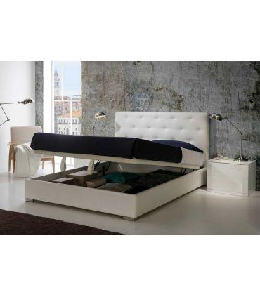 Camas de Diseño con Canapé Abatible : Modelo ALICANTE