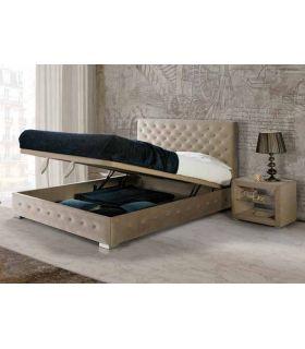 Comprar online Camas Tapizadas con canapé Abatible Modelo GRANADA LD