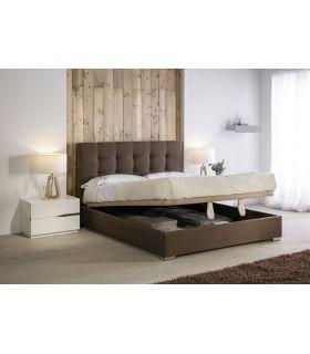 Comprar online Camas Tapizadas con canapé abatible modelo ASTURIAS