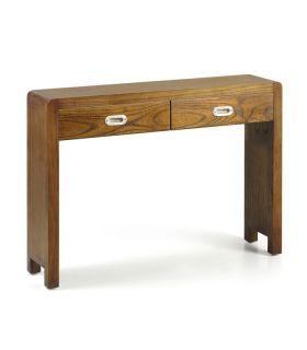 Comprar online Consola de estilo colonial en madera natural Colección FLASH