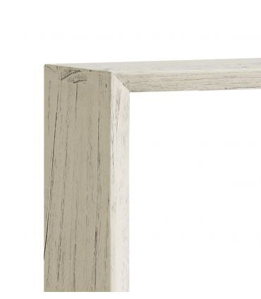 Estante cuadrado en madera de Mindi Colección MURIA