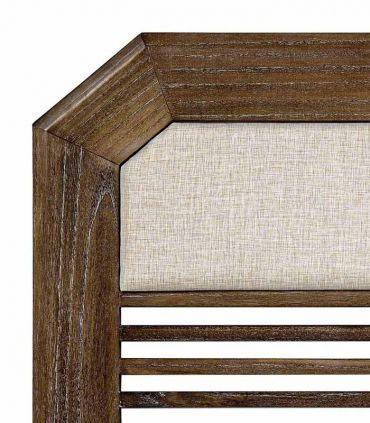 Cabecero de madera tapizado Colección SINDORO