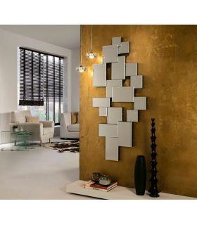 Comprar online Espejo de Pared Moderno de Cristal CITY Schuller