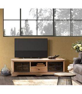 Comprar online Mesa de televisión de estilo rústico Colección SIENA