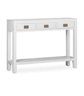 Comprar online Consola de madera lacada en blanco Colección EVEREST