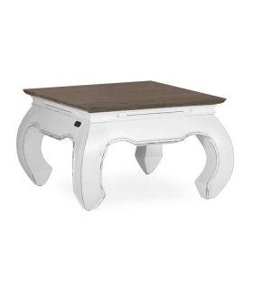 Comprar online Mesas Auxiliares para salón en madera de Mindi Colección EVEREST