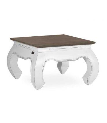 Mesas Auxiliares para salón en madera de Mindi Colección EVEREST